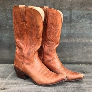 Charlie Horse Brazilian Leather Cowboy Boots